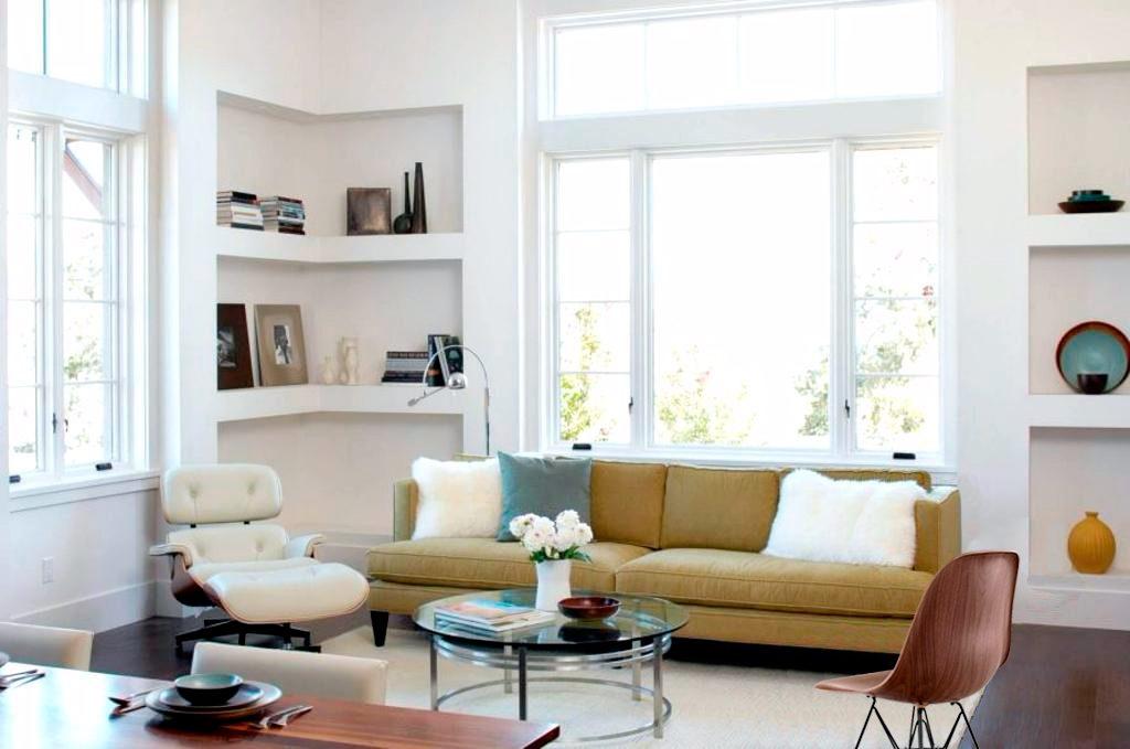 Poltrona Eames Charles em conjunto com a cadeira Eames Eiffel: certeza de sucesso
